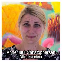 Anne Juul Christophersen besvarer dine spørgsmål om kunst